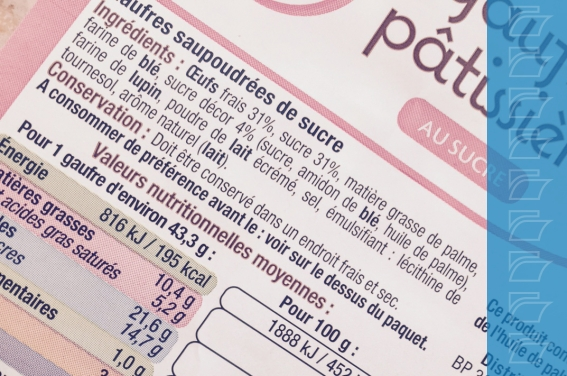 règlementation INCO - Ametis étiquette et traçabilité